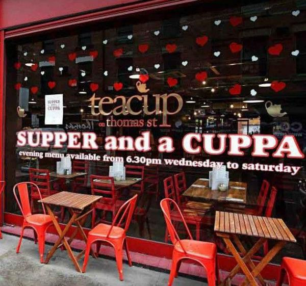 Litecraft City Guide: Manchester – Teacup on Thomas St