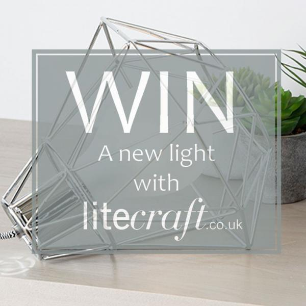 Win a Geometric Inspired Lamp with Litecraft