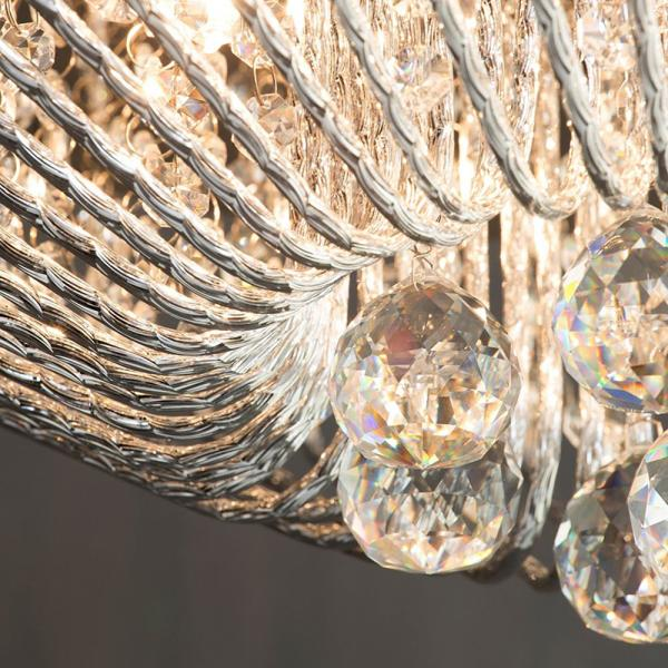 Brittany Crystal Effect Lighting Collection