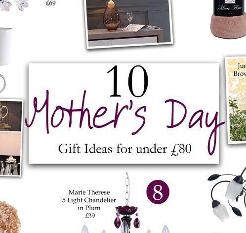10 Mothers Day Gift ideas for under £80