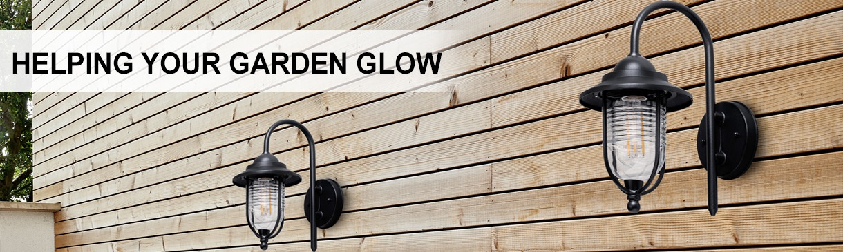 Make Your Garden Glow with outdoor lighting. Shop now
