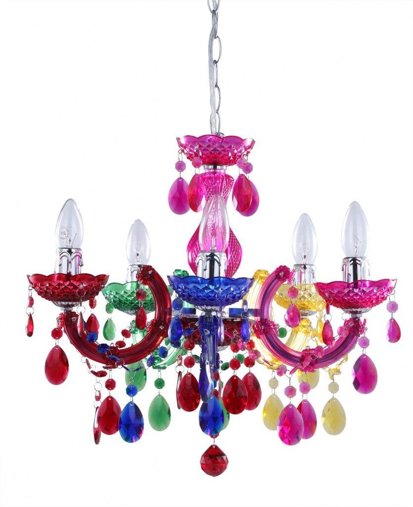 Marie Therese Coloured Chandeliers Litecraft