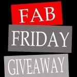 Fab Friday Giveaway.... Winner Announced!!