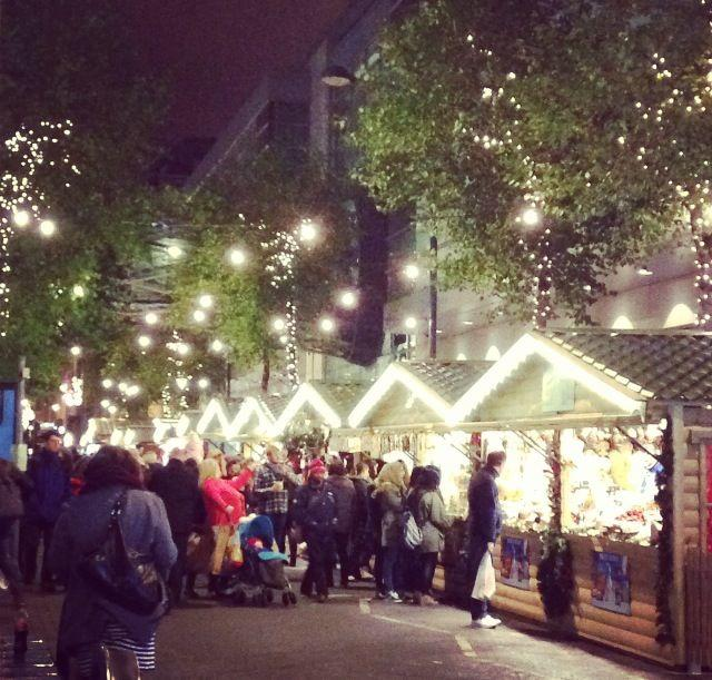 Manchester Christmas Markets - Corporation Street