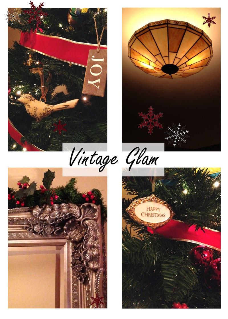 Vintage Glam Home Feature