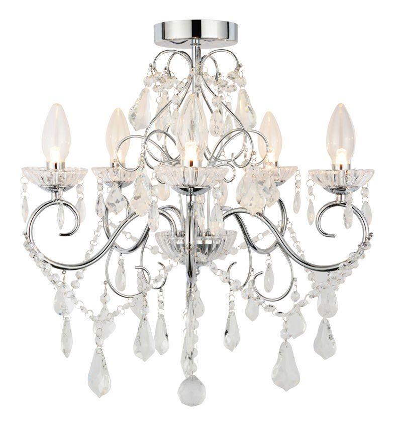 Vara 5 Light Bathroom Chandelier