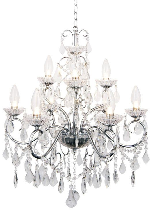 Vara 9 Light Bathroom Chandelier