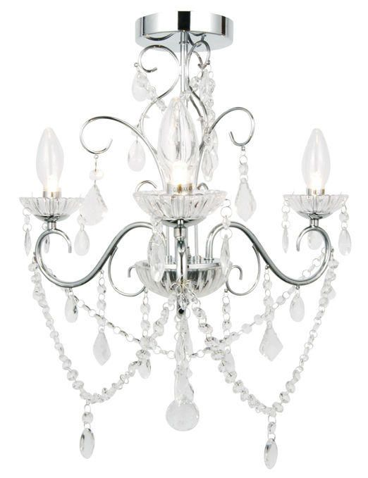 Vara 3 Light Bathroom Chandelier
