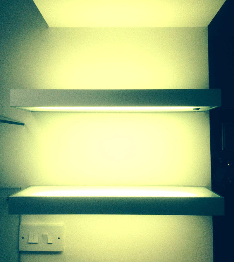 Illuminated Shelving Ideas