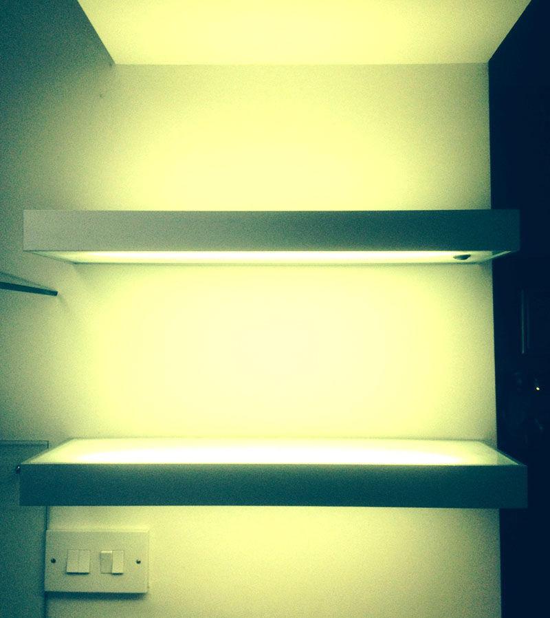 Illuminated Shelving Ideas