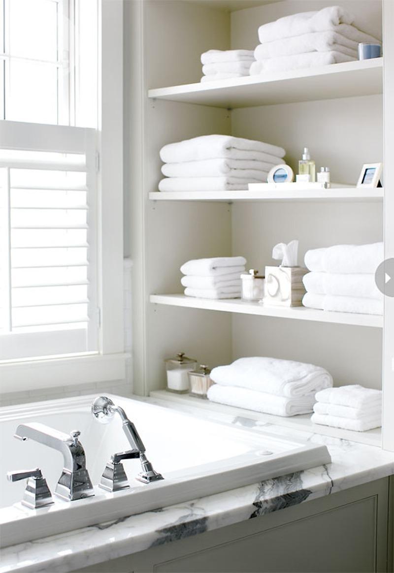 Storage Ideas - Bathroom Shelving