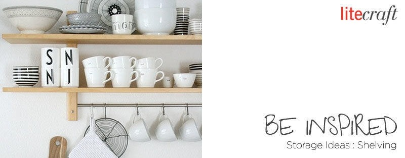 Be Inspired - Storage Ideas, Shelving