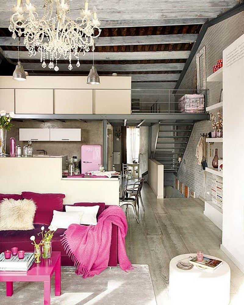 Industrial Romance Interior