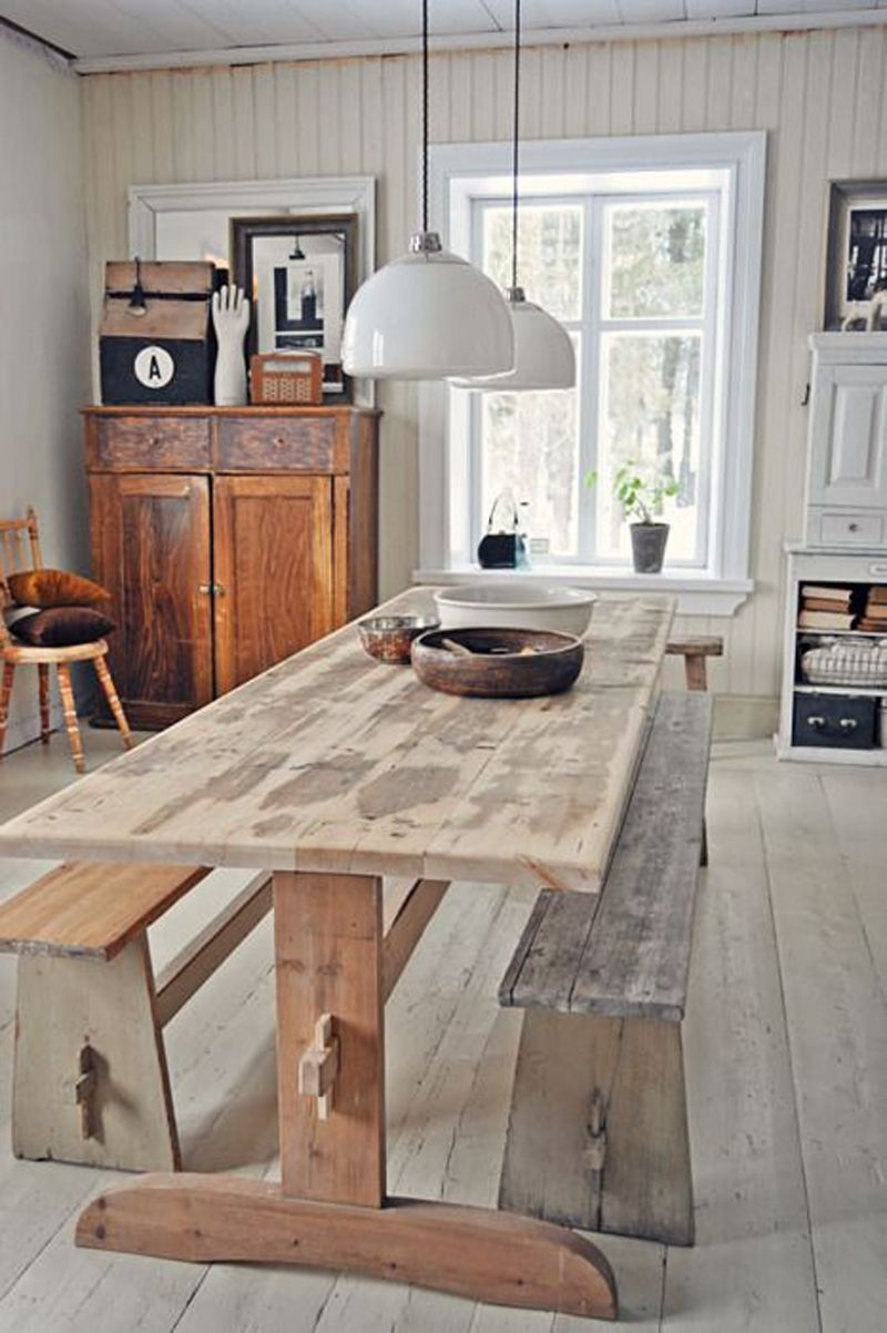 Industrial kitchen country farmhouse v urban chic for Country farmhouse blog