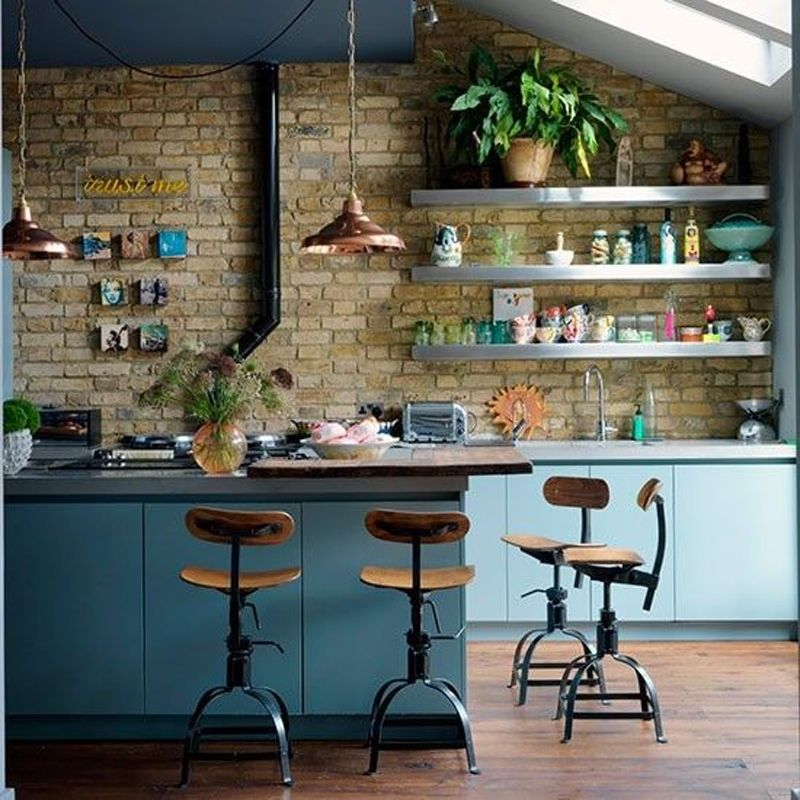 Industrial Copper Kitchen