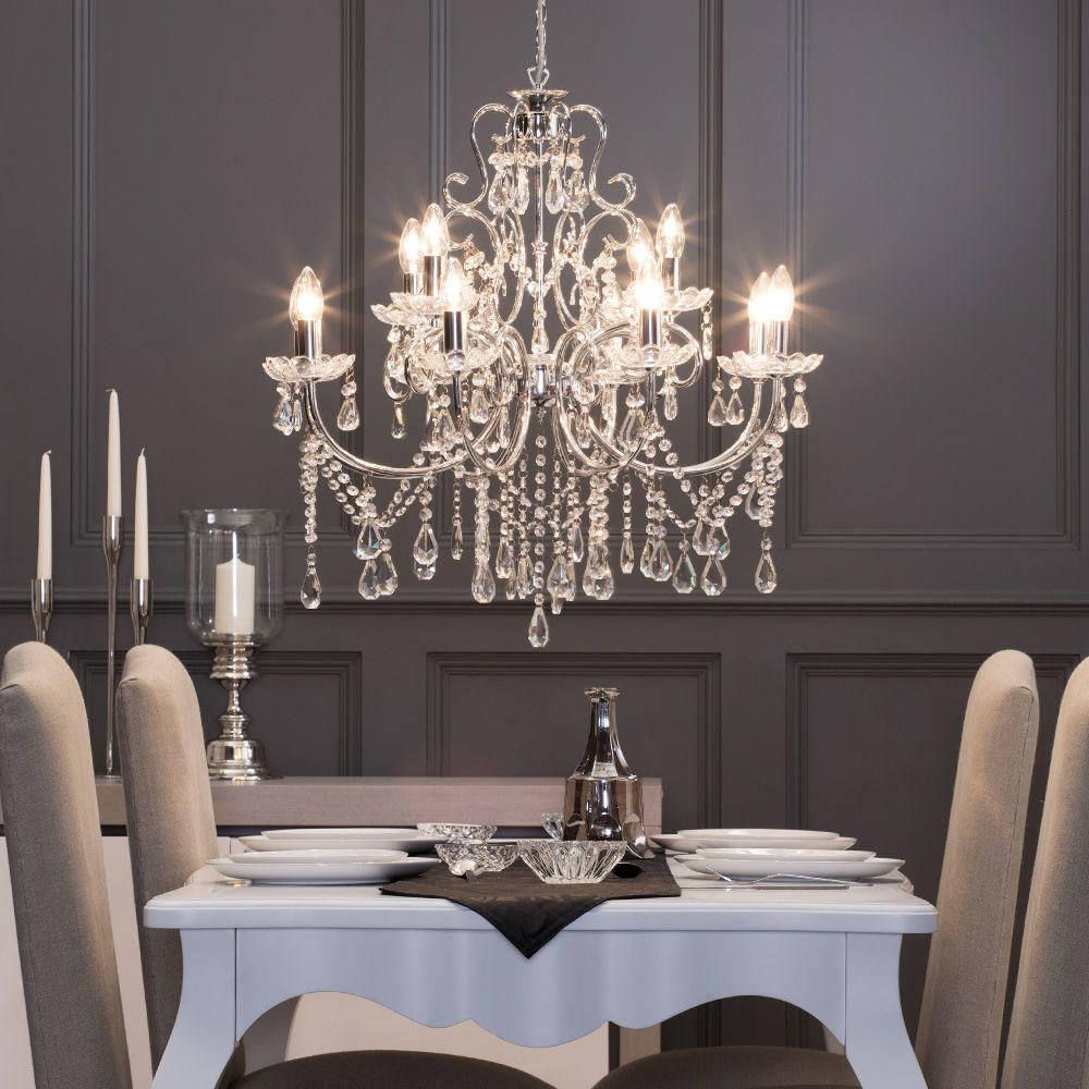 chandelier lights for dining room | A Guide to Ceiling Lights - Litecraft