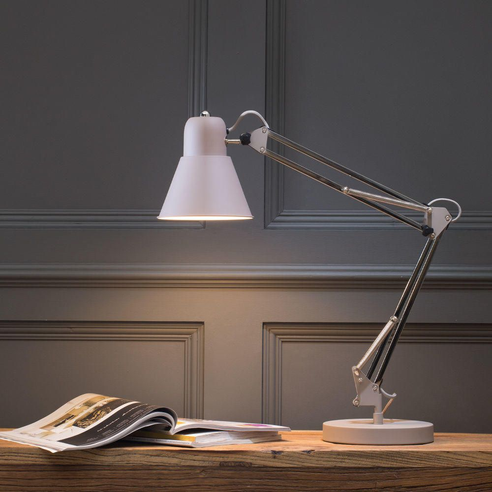 A guide to home office lighting litecraft for Table lamp for office