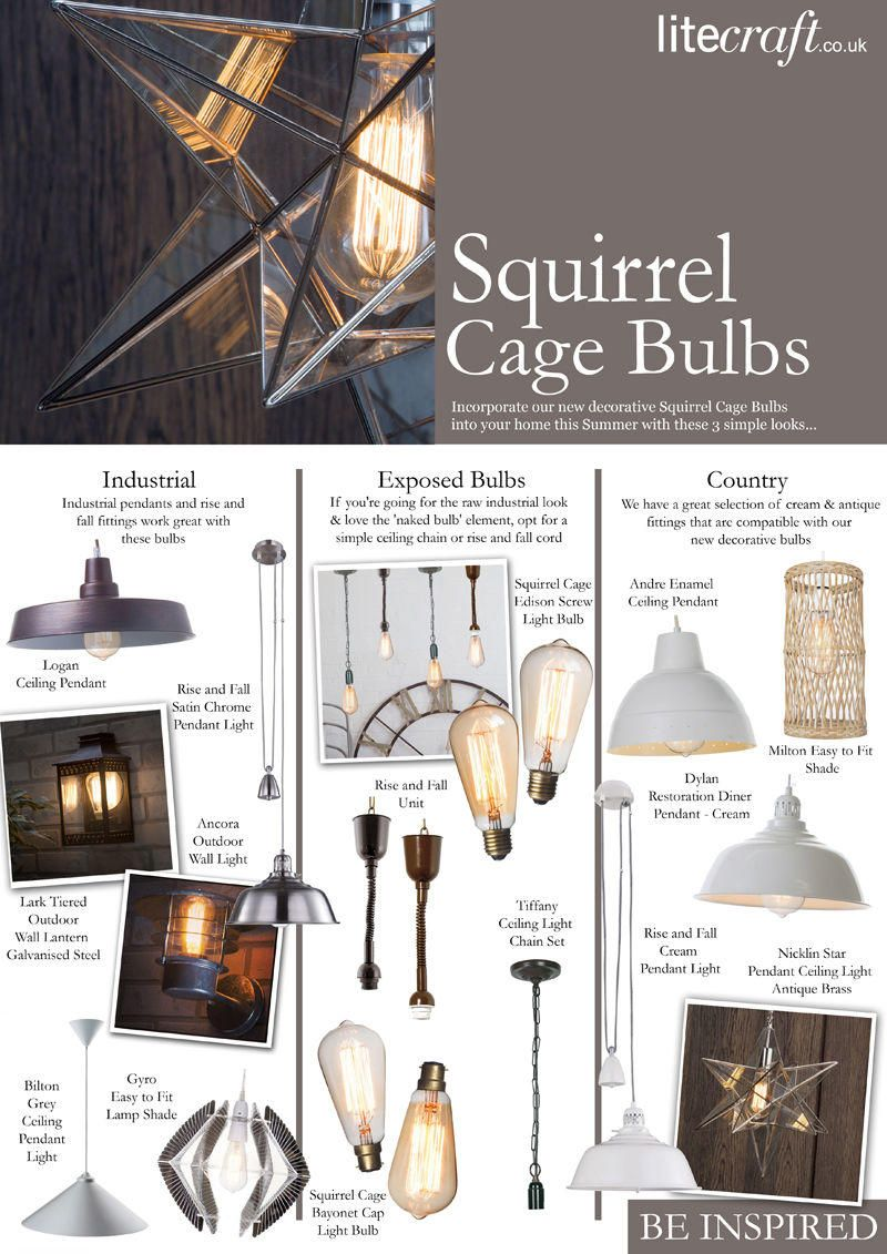 Incorporate our new Decorative Bulbs into your home in 3 simple ways
