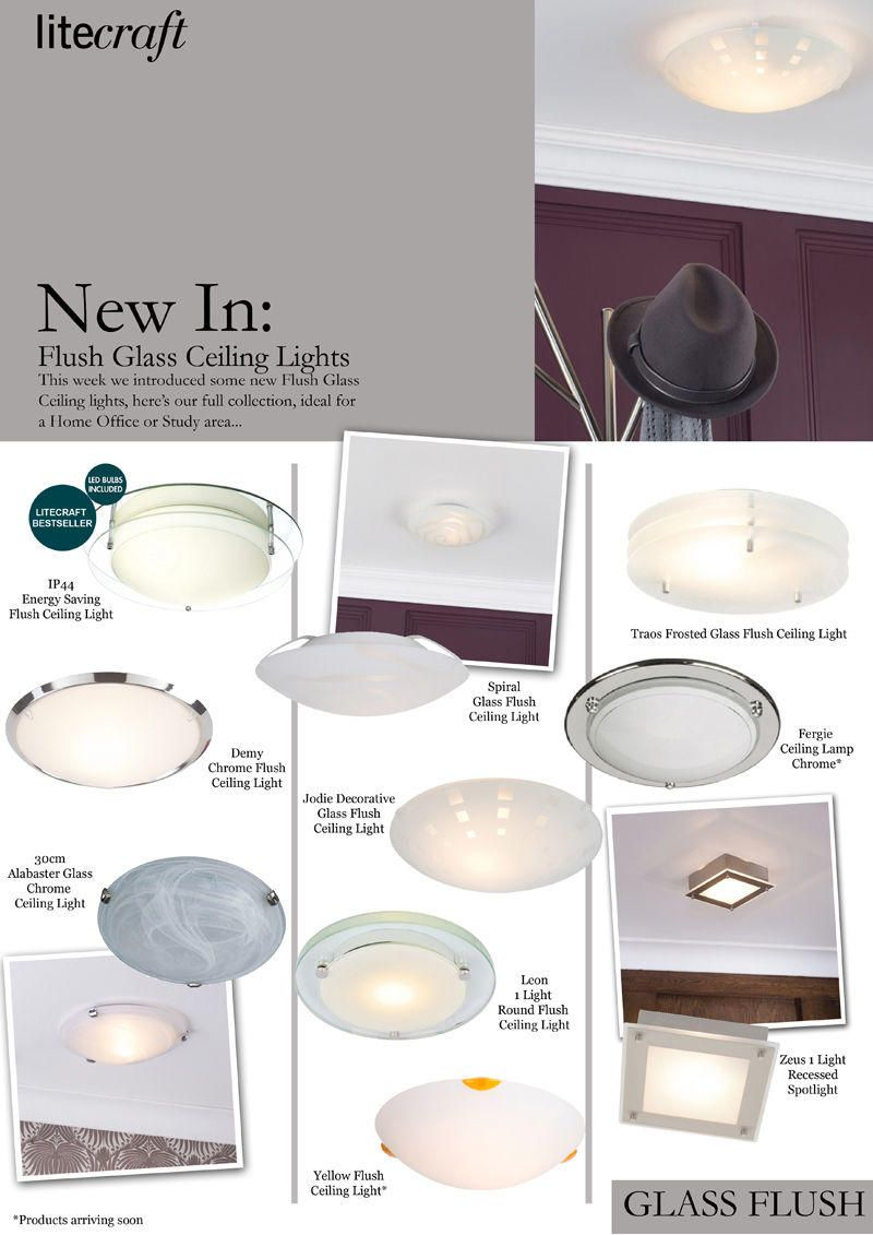 Home Office Lighting Glass Flush Fathers Day Gift Inspiration from Litecraft