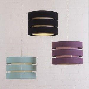 Drum easy fit lamp shades - colours