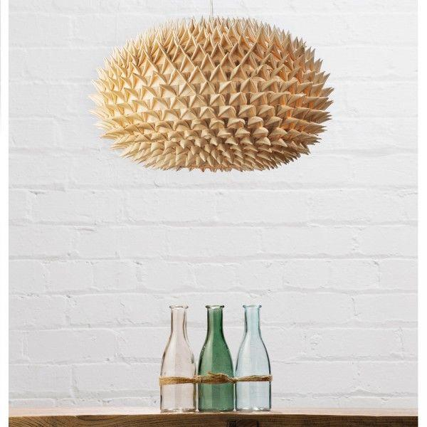 How to transform your lighting with lamp shades litecraft bamboo spikey ball easy fit light shade aloadofball Images