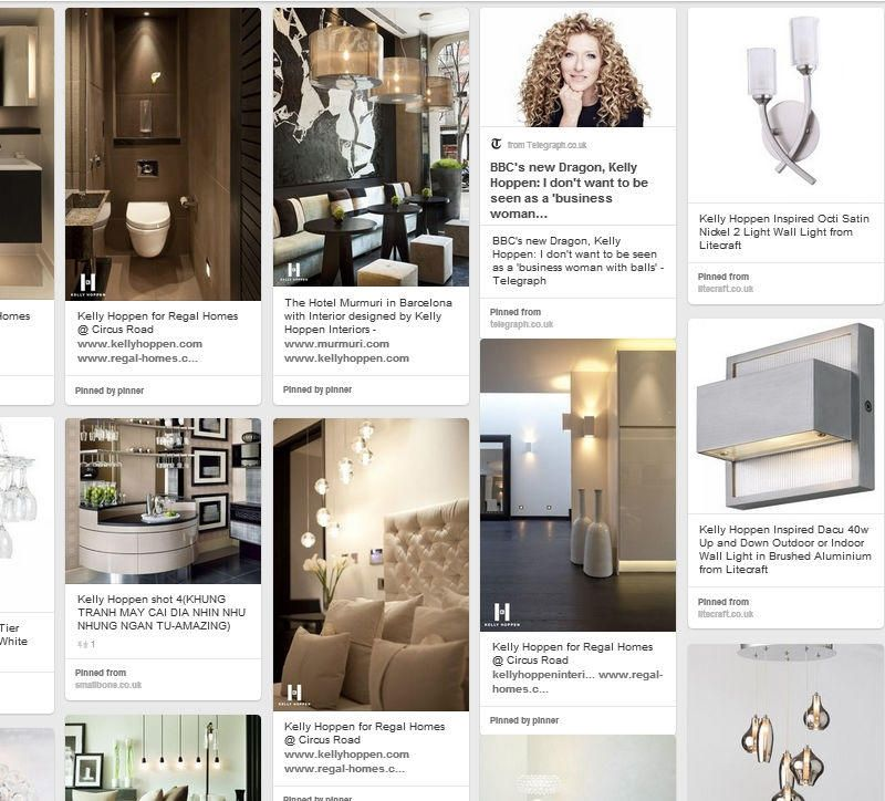 Kelly Hoppen board pinterest