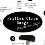 Monochrome Inspired Replica Circa Lighting Range