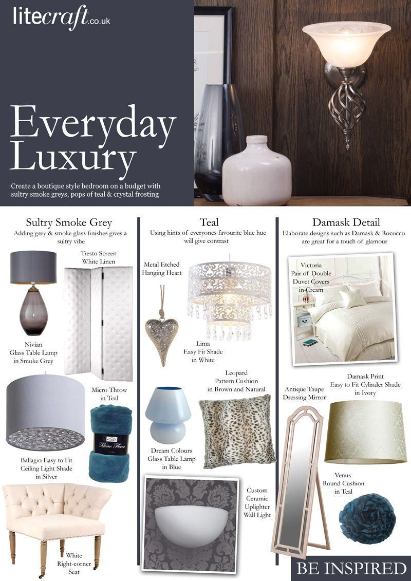 Lighting up your home Everyday Luxury Style Look Book