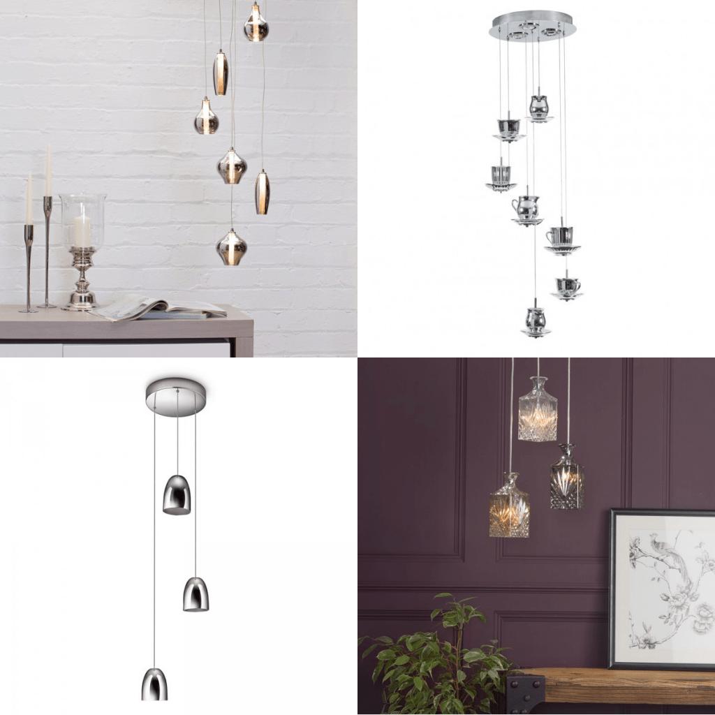 pendant lighting cluster pendants and cascade pendants at Litecraft