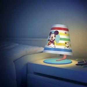 children's bedside lamp night light mickey mouse