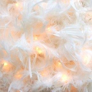 Feather fairy lights gift idea