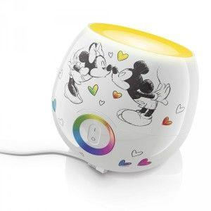 Childrens Disney colour changing lamp gift idea