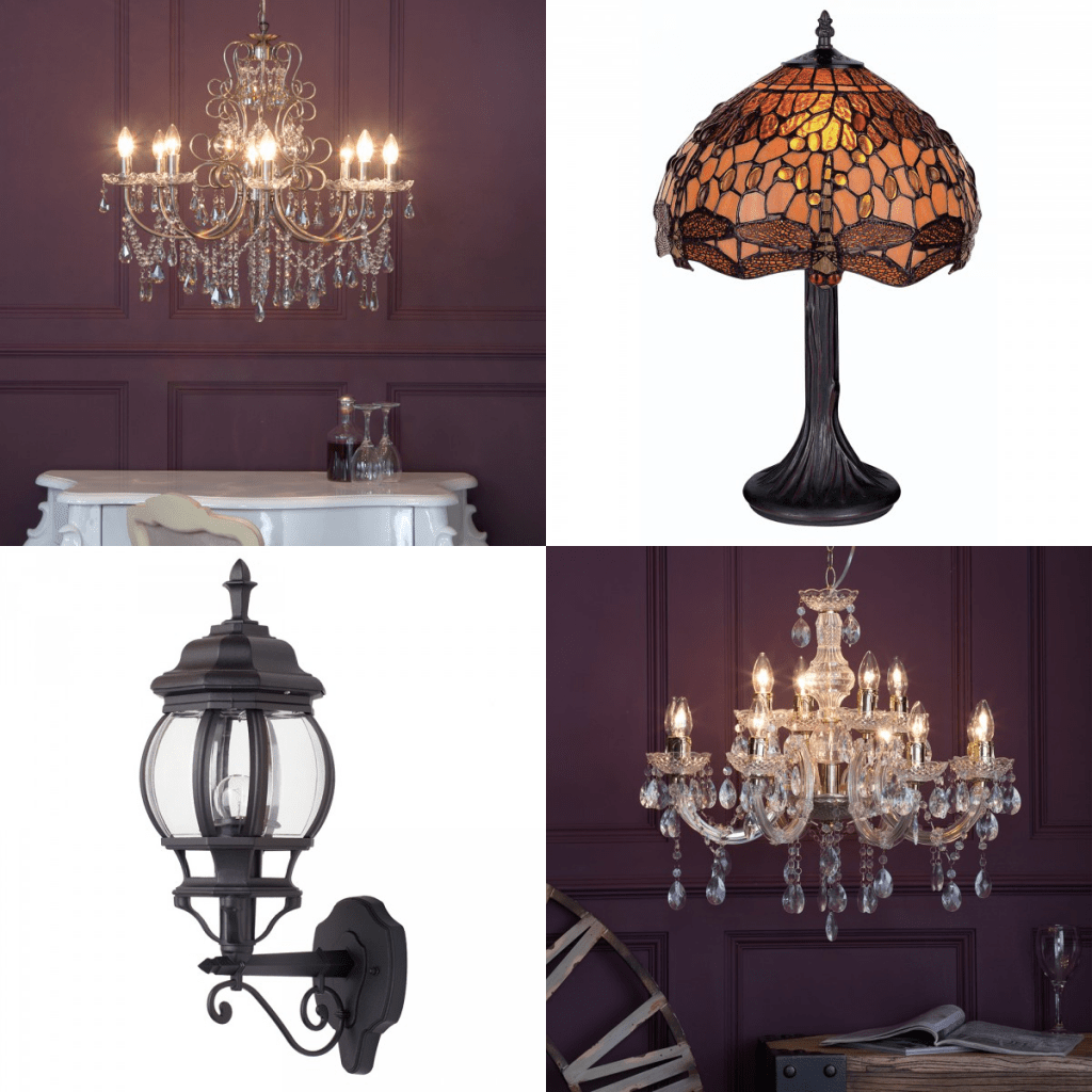 Vintage lighting inspiration Victorian lighting