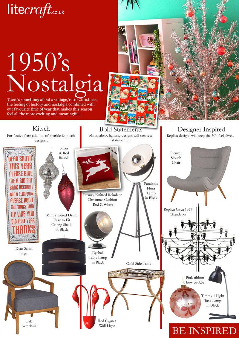 Christmas Lighting and Accessories : 1950's Nostalgia