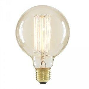 Decorative globe light bulb
