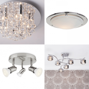 How to save space with flush and semi flush ceiling lights