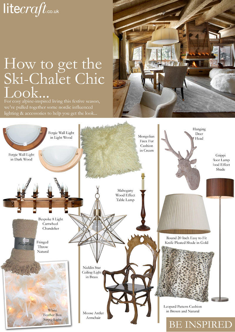How to get the Ski Chalet Chic look