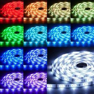Colour changing strip lights LED lighting