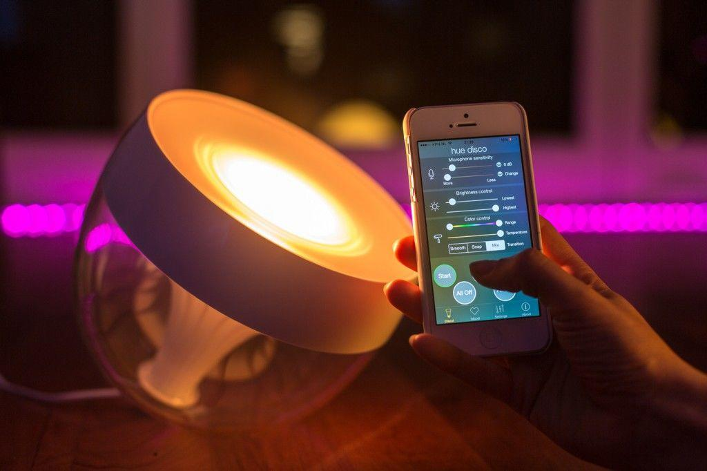 philips connected mood lighting
