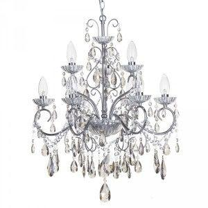 Vara coloured bathroom chandelier