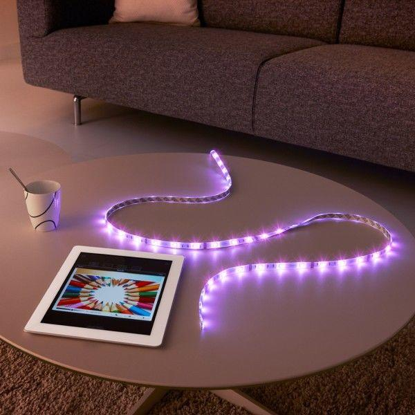 How to use led strip lighting in your kitchen litecraft colour changing led strip lights aloadofball Image collections
