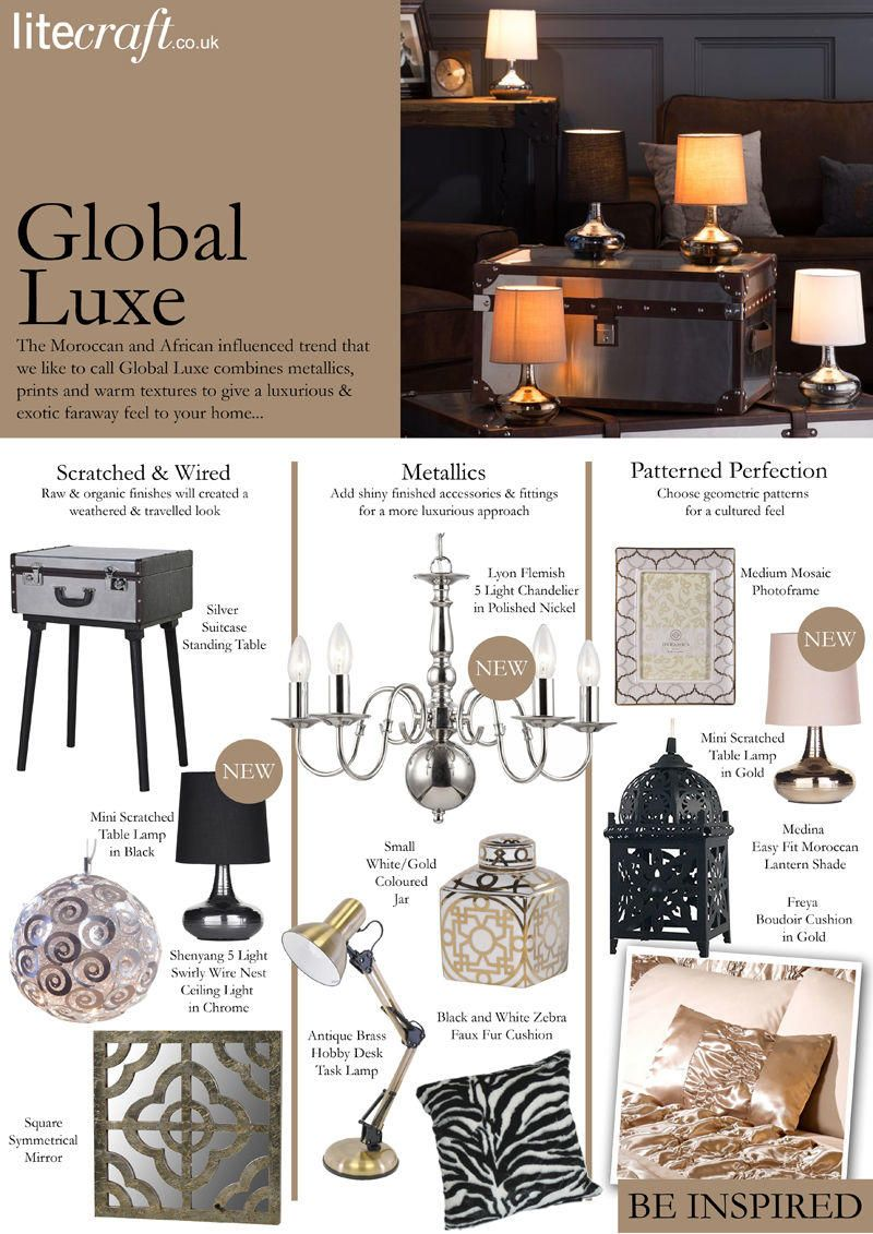 Giving your interiors a Global Luxe treatment