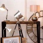 Study in Style : Industrial Style Task Lamps & Accessories