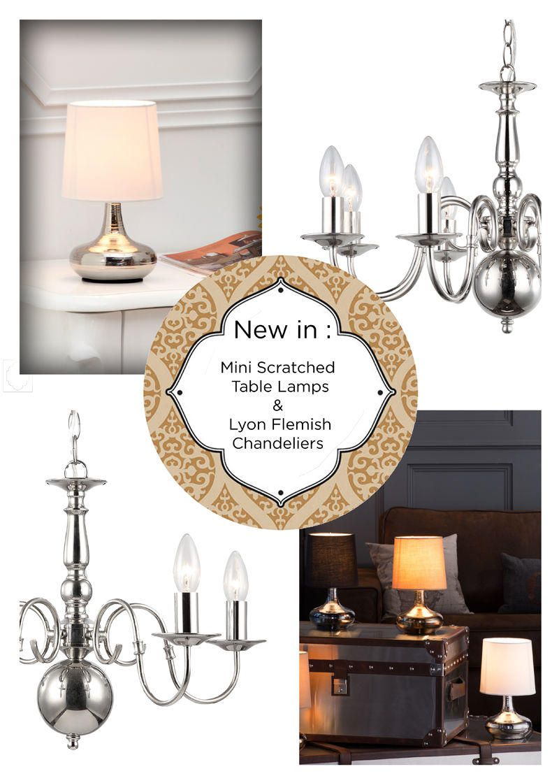 Global Luxe inspired : New Lighting Arrivals