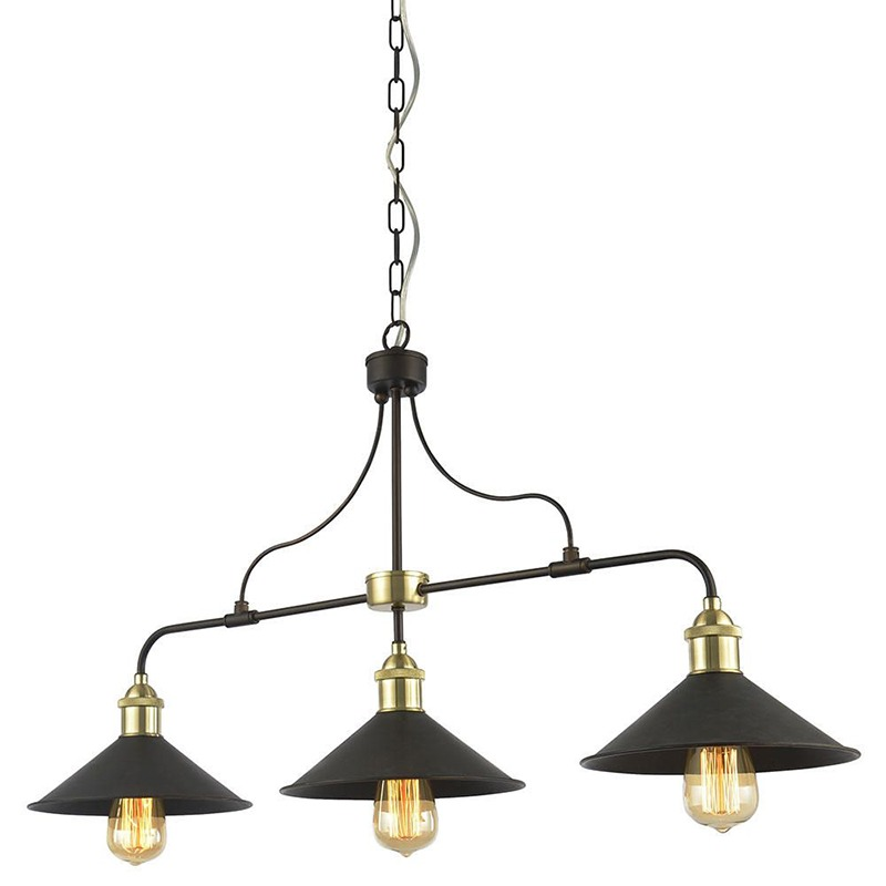 Kitchen Island Lighting - _vintage_industrial_style_diner_ceiling_bar_