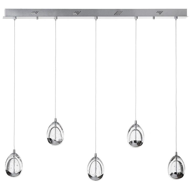Kitchen Island Lighting - Bulla 5 Light Pendant