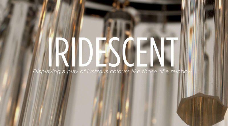 9 Beautiful Words - Iridescent