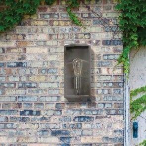 Weathered Wonders Our Top 7 Steel Outdoor Wall Lights Litecraft