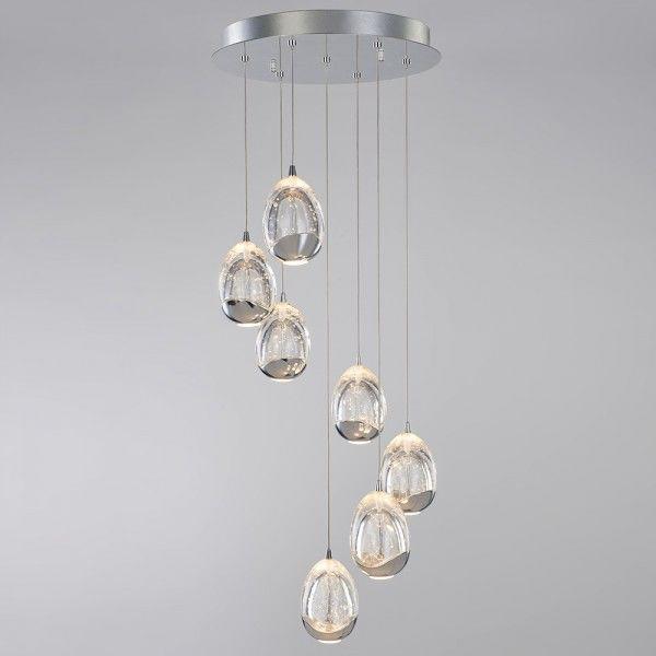 New Lighting Tegg 7 Light Spiral