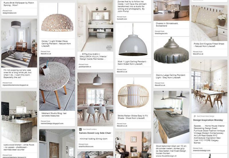 Add weathered and worn accessories to your home interiors